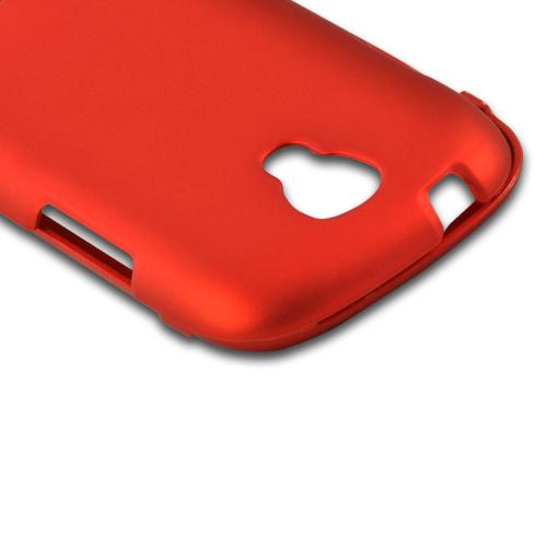 Orange Rubberized Hard Case for Samsung Stratosphere 2
