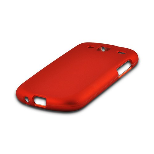Orange Rubberized Hard Case for Samsung Stratosphere 3