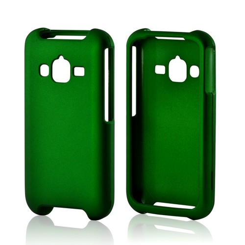 Green Rubberized Hard Case for Samsung Rugby Pro