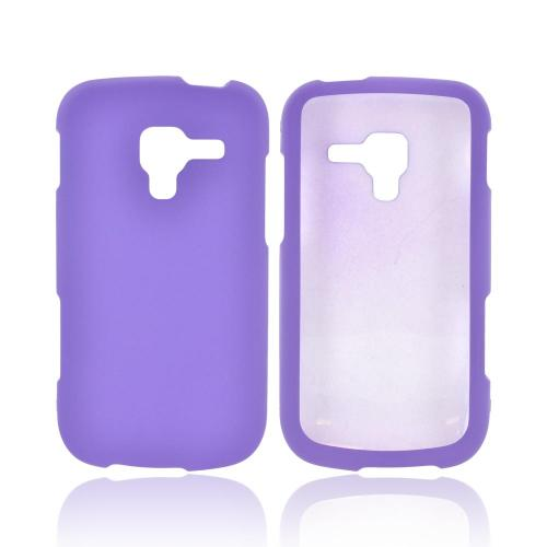 Samsung Exhilarate i577 Rubberized Hard Case - Purple