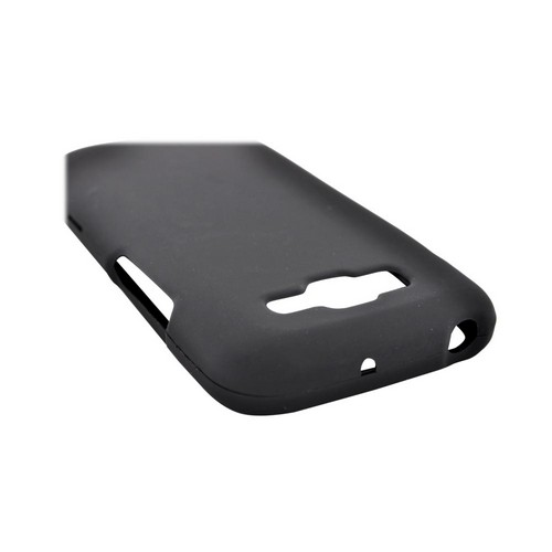 Samsung Focus 2 Rubberized Hard Case - Black