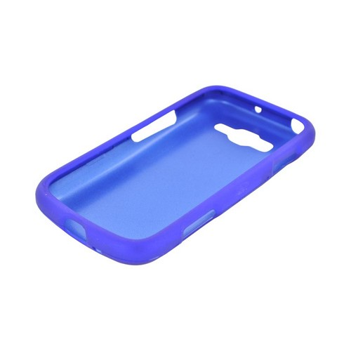 Samsung Focus 2 Rubberized Hard Case - Blue