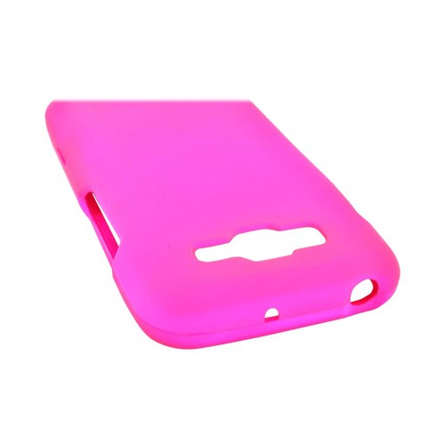 Samsung Focus 2 Rubberized Hard Case - Hot Pink