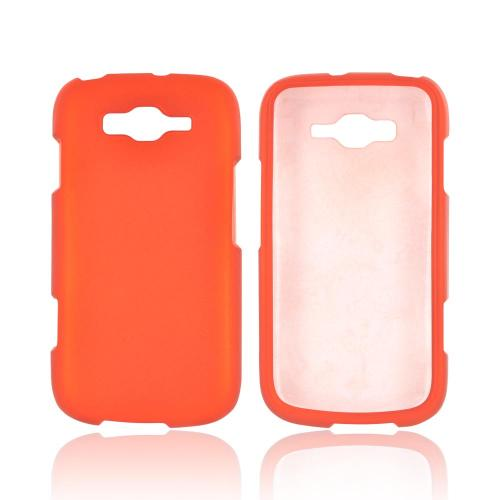 Samsung Focus 2 Rubberized Hard Case - Orange