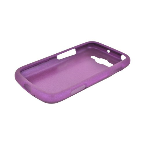 Samsung Focus 2 Rubberized Hard Case - Purple