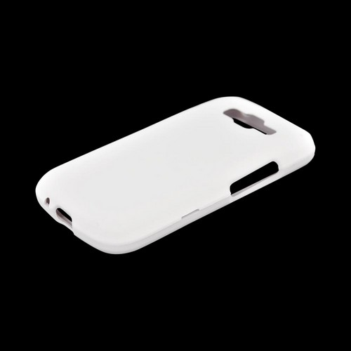 Samsung Focus 2 Rubberized Hard Case - White