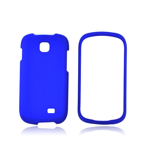 Samsung Galaxy Appeal Rubberized Hard Case - Blue