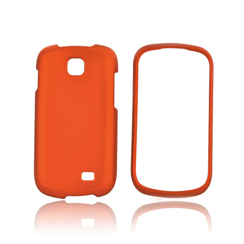 Samsung Galaxy Appeal Rubberized Hard Case - Orange