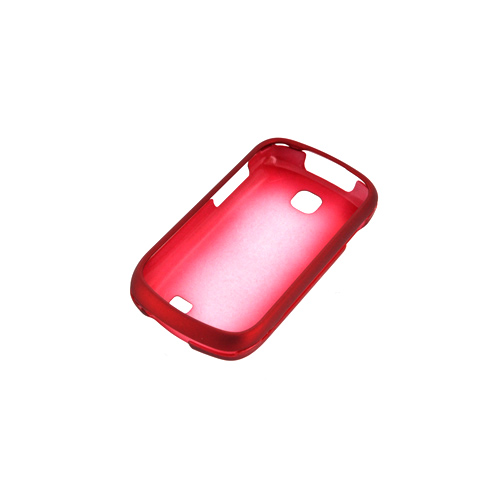 Samsung Galaxy Appeal Rubberized Hard Case - Red