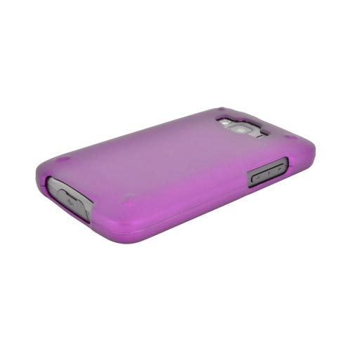Samsung Rugby Smart i847 Rubberized Hard Case - Purple