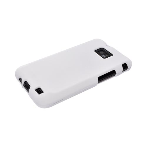 AT&T Samsung Galaxy S2 Rubberized Hard Case - White