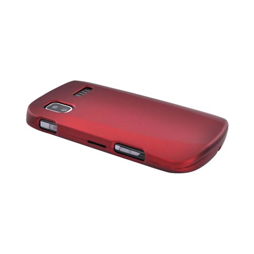 Samsung Focus i917 Rubberized Hard Case - Red