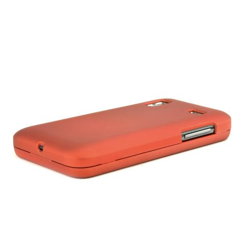 Samsung Captivate Glide i927 Rubberized Hard Case - Orange