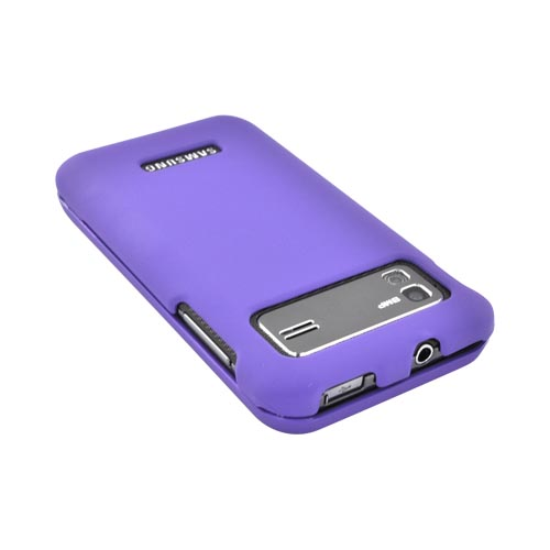 Samsung Captivate Glide i927 Rubberized Hard Case - Purple
