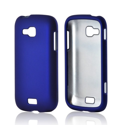 Blue Rubberized Hard Case for Samsung ATIV Odyssey