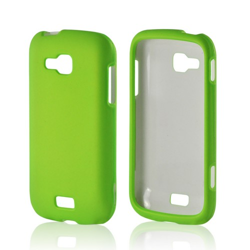 Neon Green Rubberized Hard Case for Samsung ATIV Odyssey
