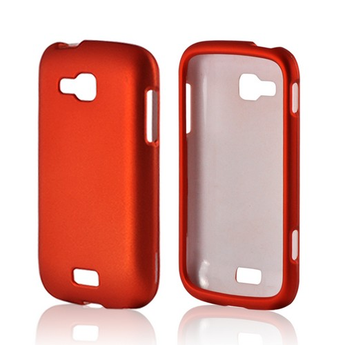 Orange Rubberized Hard Case for Samsung ATIV Odyssey