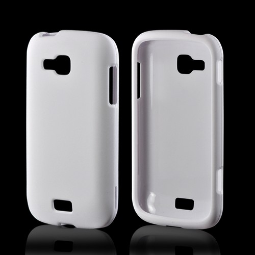 White Rubberized Hard Case for Samsung ATIV Odyssey