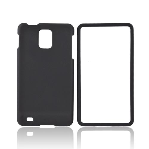 Samsung Infuse i997 Rubberized Hard Case - Black