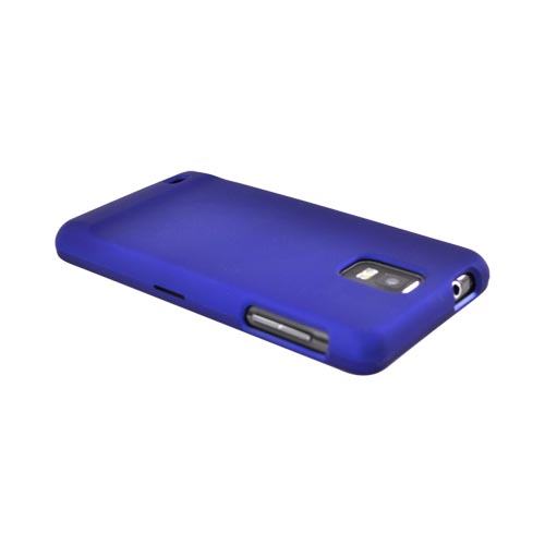 Samsung Infuse i997 Rubberized Hard Case - Blue