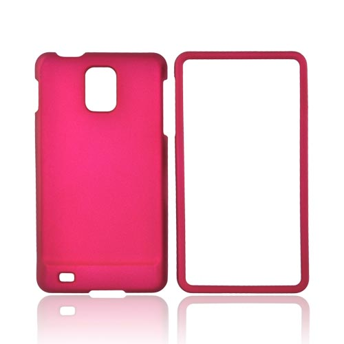 Samsung Infuse i997 Rubberized Hard Case - Magenta