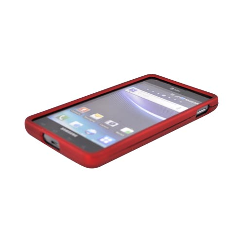 Samsung Infuse i997 Rubberized Hard Case - Red