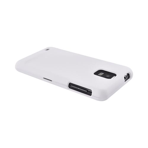 Samsung Infuse i997 Rubberized Hard Case - White