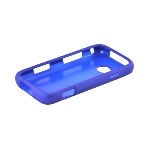 Samsung Galaxy Victory 4G LTE Rubberized Hard Case - Blue