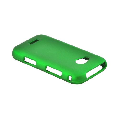 Samsung Galaxy Victory 4G LTE Rubberized Hard Case - Green