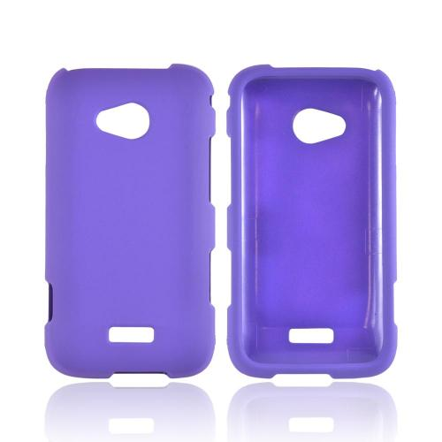 Samsung Galaxy Victory 4G LTE Rubberized Hard Case - Purple