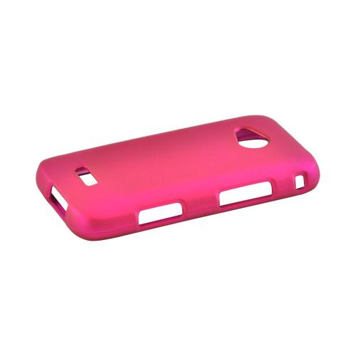Samsung Galaxy Victory 4G LTE Rubberized Hard Case - Rose Pink