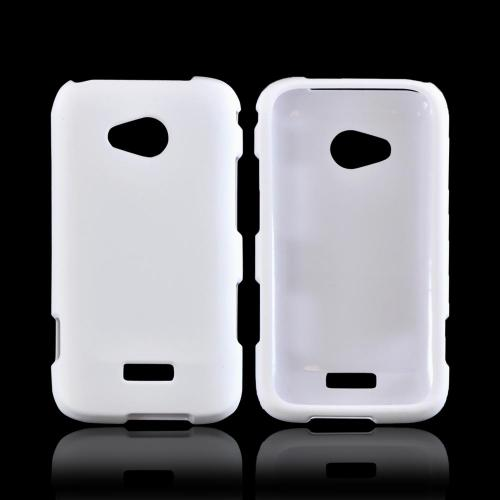 Samsung Galaxy Victory 4G LTE Rubberized Hard Case - White