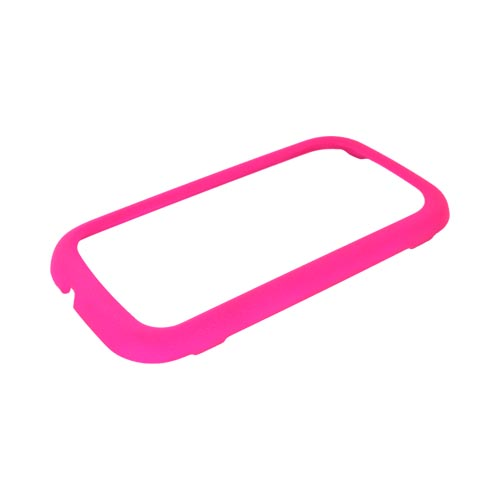 Samsung Trender M380 Rubberized Hard Case - Hot Pink