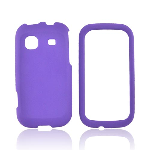 Samsung Trender M380 Rubberized Hard Case - Purple