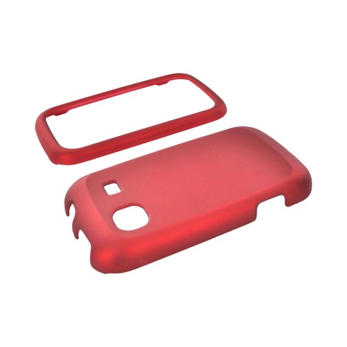 Samsung Trender M380 Rubberized Hard Case - Red