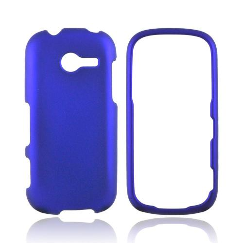 Samsung Array M390 Rubberized Hard Case - Blue