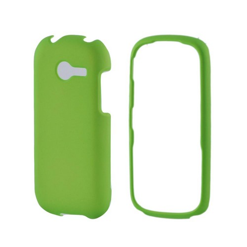 Samsung Array M390 Rubberized Hard Case - Neon Green