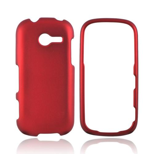 Samsung Array M390 Rubberized Hard Case - Red