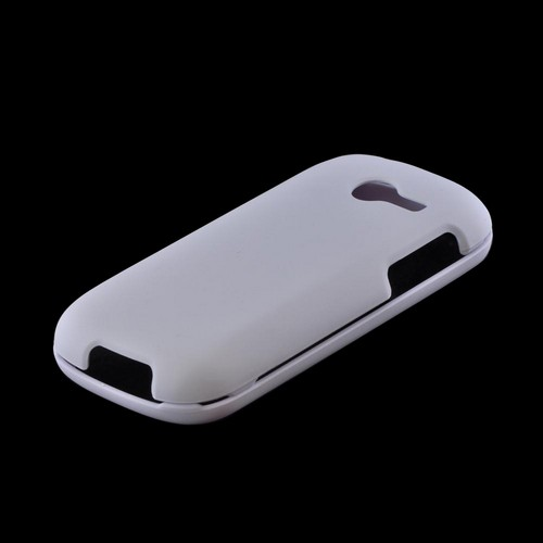 Samsung Array M390 Rubberized Hard Case - White