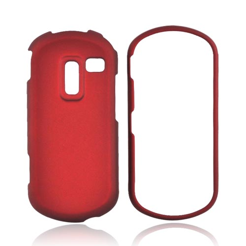 Samsung Restore M570 Rubberized Hard Case - Red