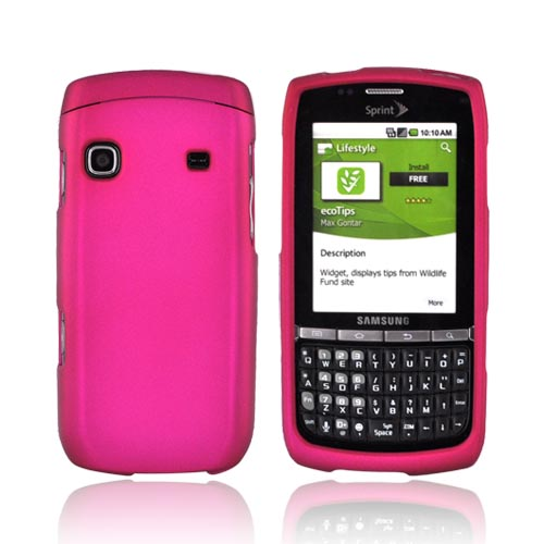 Samsung Replenish M580 Rubberized Hard Case - Rose Pink