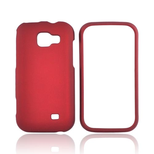 Samsung Transform M920 Rubberized Hard Case - Red