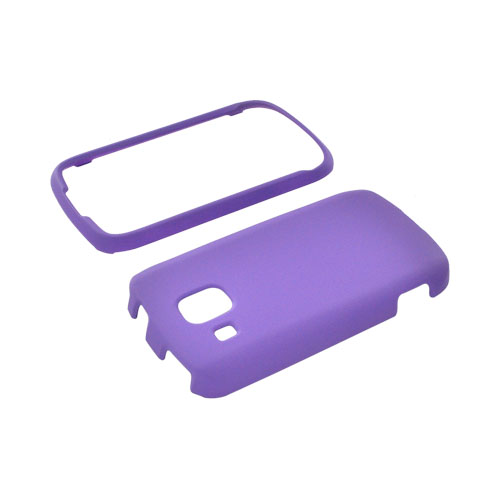 Samsung Transform Ultra M930 Rubberized Hard Case - Purple