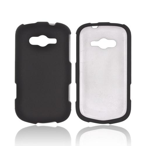 Samsung Galaxy Reverb Rubberized Hard Case - Black