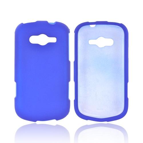 Samsung Galaxy Reverb Rubberized Hard Case - Blue