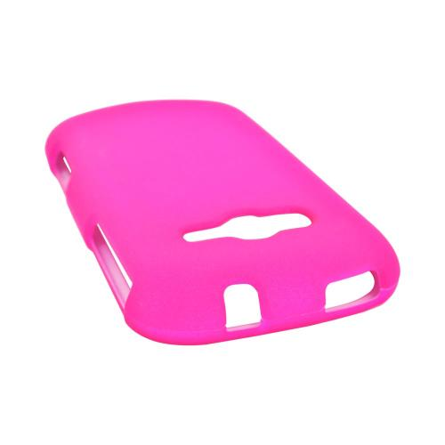 Samsung Galaxy Reverb Rubberized Hard Case - Hot Pink