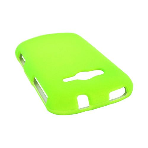 Samsung Galaxy Reverb Rubberized Hard Case - Neon Green