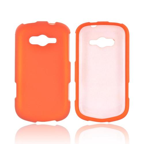 Samsung Galaxy Reverb Rubberized Hard Case - Orange