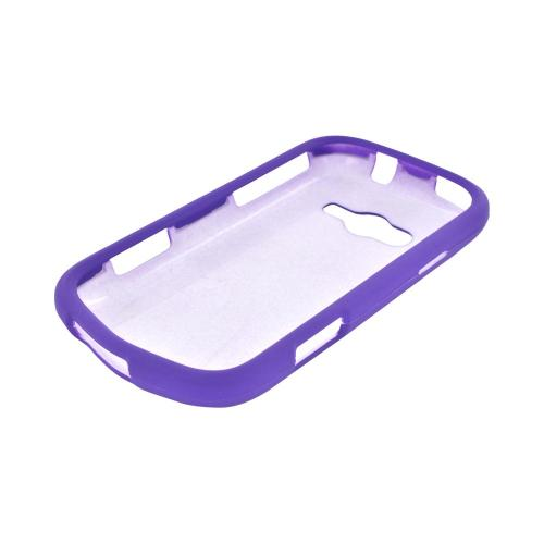 Samsung Galaxy Reverb Rubberized Hard Case - Purple