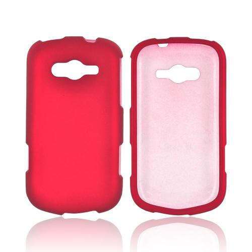 Samsung Galaxy Reverb Rubberized Hard Case - Red